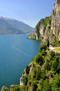 Lago di garda largest italian lake north italy Stock Images