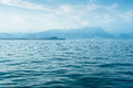 Lago di garda the most popular lake of italy die Royalty Free Stock Photography