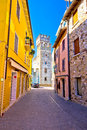 Lago di Garda town of Sirmione view Royalty Free Stock Photo