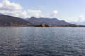 Lago maggiore italy island at the in taly Stock Image