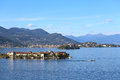 Lago maggiore view of italy Stock Photography