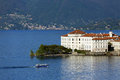 Lago maggiore view of italy Royalty Free Stock Photo