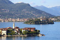Lago maggiore view of italy Royalty Free Stock Images