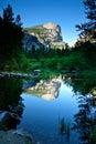 Lago mirror, sosta nazionale del Yosemite Fotografie Stock Libere da Diritti