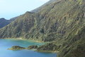 Lagoa do Fogo, Sao Miguel, Azores Royalty Free Stock Photos