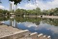 Lagoon of illusions,tomas garrido canabal park  Villahermosa,Tabasco,Mexico Royalty Free Stock Photo
