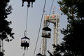 Lagoon Park: Sky Ride Royalty Free Stock Photo