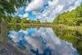 Lagoon Swamp sky reflection water