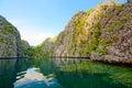 Lagoons and Rocks of Coron Island, Philippines Royalty Free Stock Photo