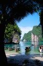 Laguna en Tailandia Fotos de archivo