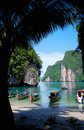 Lagune en Thaïlande Photos stock