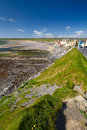 Lahinch beach scenery in Co. Clare Royalty Free Stock Photo