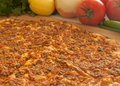 Lahmacun Royalty Free Stock Photo