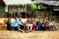 Lahu hill tribe children Stock Image