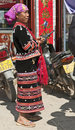 Lahu Woman Royalty Free Stock Photos