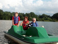 On the lake Royalty Free Stock Photo