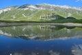 Lake in Abruzzo Stock Image