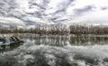Lake Ada Ciganlija Royalty Free Stock Photo