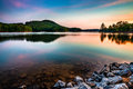 Lake allatoona at red top mountain state park north of atlanta sunrise Royalty Free Stock Photography
