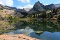 Lake Blanche in Utah Royalty Free Stock Photo