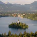 Lake Bled Royalty Free Stock Images