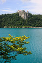 Lake Bled and Castle Stock Photos