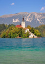 Lake Bled,Julian Alps,Slovenia Royalty Free Stock Images