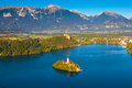 Lake Bled, Slovenia Royalty Free Stock Photo