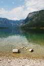 Lake Bohinj Shore Stock Photo