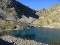 Lake in the Caucasus Royalty Free Stock Image