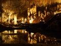 Lake Cave, Margaret River, Western Australia Royalty Free Stock Photo