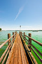 Lake Chiemsee Royalty Free Stock Photo