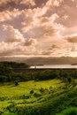 Lake close to the Arenal Volcano Royalty Free Stock Photo