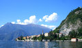 Lake como floating around on Royalty Free Stock Image
