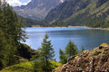 Lake Devero Royalty Free Stock Photography
