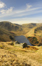 Lake district field barn, Haweswater Royalty Free Stock Photo