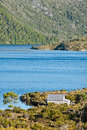 Lake dove cradle mountain, Tasmania Royalty Free Stock Photography