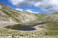 Lake of the duchess landscape view lazio italy Royalty Free Stock Images