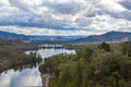 Lake eildon victoria australia and forest Royalty Free Stock Images
