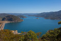 Lake eildon victoria australia with view of the dam Stock Photography