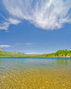 Lake Electra in the San Juan Mountains in Colorado Royalty Free Stock Photos