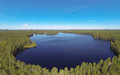 Lake in Finland Royalty Free Stock Photo