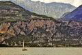 Lake garda italy Royalty Free Stock Photo