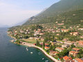 Lake Garda, Italy, Malcesine city Stock Photography
