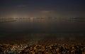 Lake Garda at night Royalty Free Stock Photo