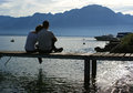 Lake Geneva, Switzerland, Europe Royalty Free Stock Photo