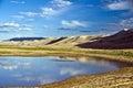 Lake in the Goby Desert, Mongolia