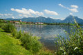 Lake Hopfensee Royalty Free Stock Images
