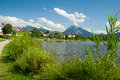 Lake Hopfensee Royalty Free Stock Photo