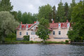 Lake House. Royalty Free Stock Photo